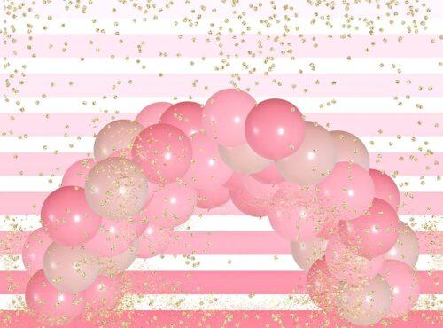 Confetti Balloon Arch Photography Backdrop