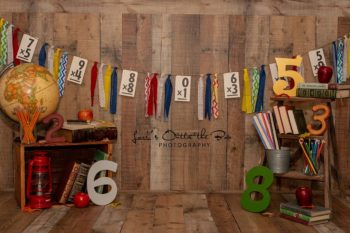 Back to School Photography Backdrop