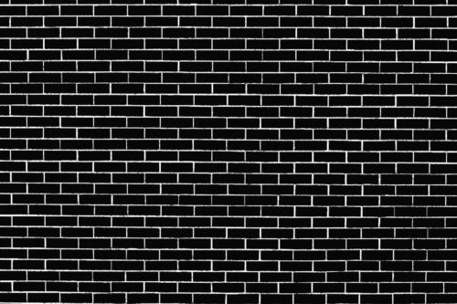 Black Brick Wall Photography Backdrop