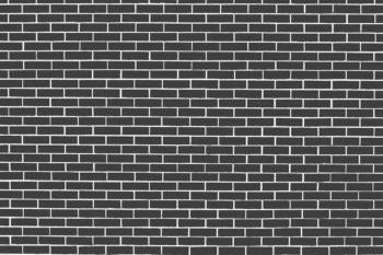 Dark Grey Brick Wall Photography Backdrop