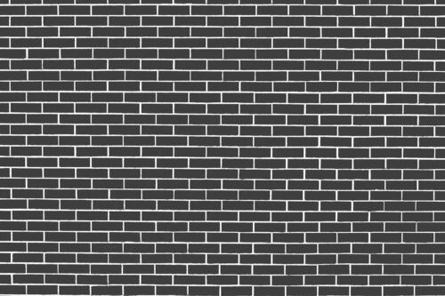 Dark Grey Brick Wall Photography Backdrop