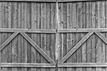 Double Gate Dark Steel Grey Photography Backdrop
