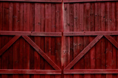 Double Gate Rustic Photography Backdrop