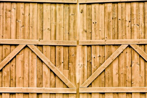 Double Gate Straw Photography Backdrop