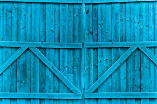 Double Gate Teal Photography Backdrop