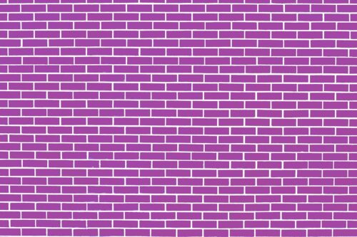 Mauve Brick Wall Photography Backdrop