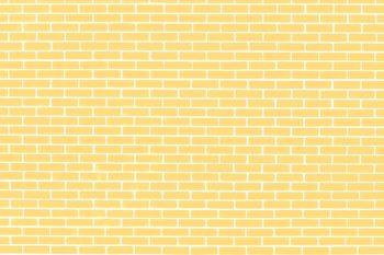 Pale Yellow Brick Wall Photography Backdrop