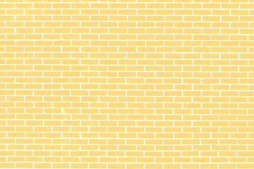 Pale Yellow Brick Wall Photography Backdrop