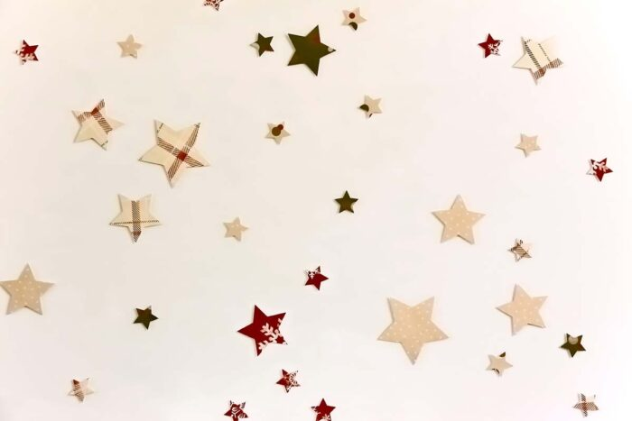 Paper Stars Photography Backdrop