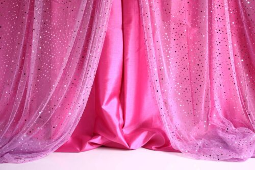 Pink Sequin Curtain Photography Backdrop
