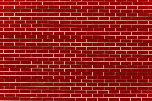 Red School Brick Wall Photography Backdrop