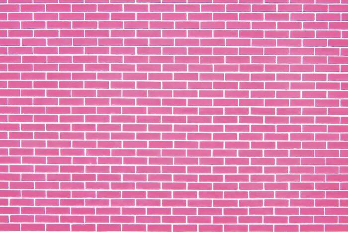 Pink Brick Wall Photography Backdrop