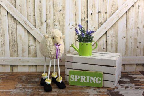 Spring Sheep Photography Backdrop