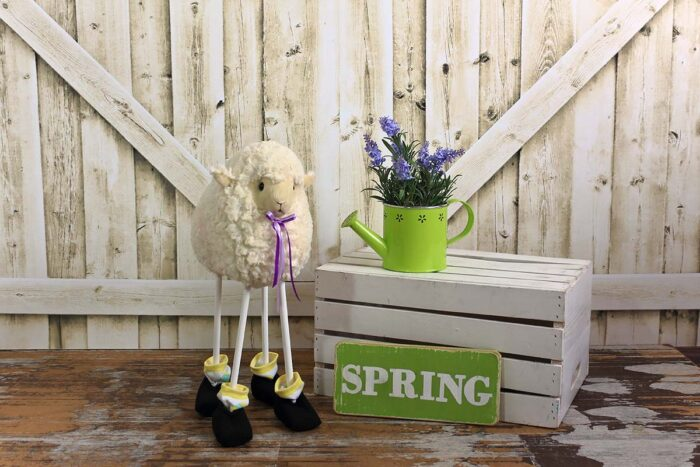 Spring Sheep Photography Backdrop
