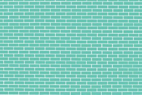 Teal Brick Wall Photography Backdrop