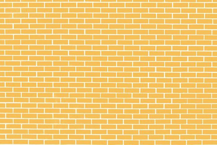 Yellow Brick Wall Photography Backdrop