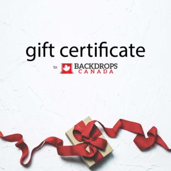 Backdrops Canada Gift Certificate