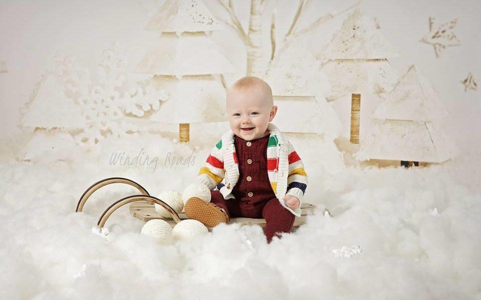 Toddler Christmas Mini Session