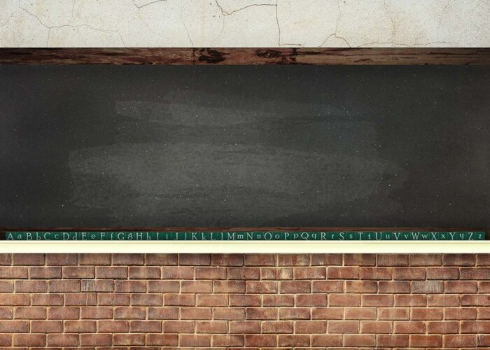 Black Chalkboard Wall Photography Backdrop