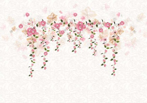 Rose Garland Photography Backdrop