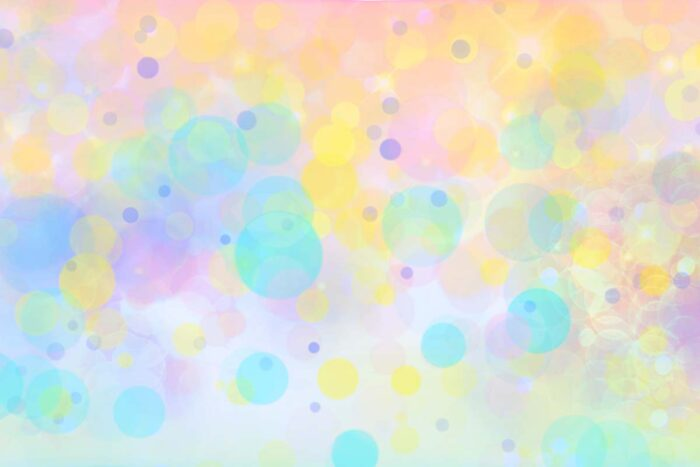 Pastel Polka Dots Bokeh Photography Backdrop