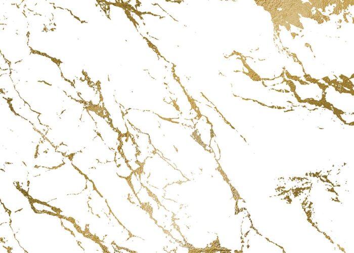 Gold Marble Floordrop