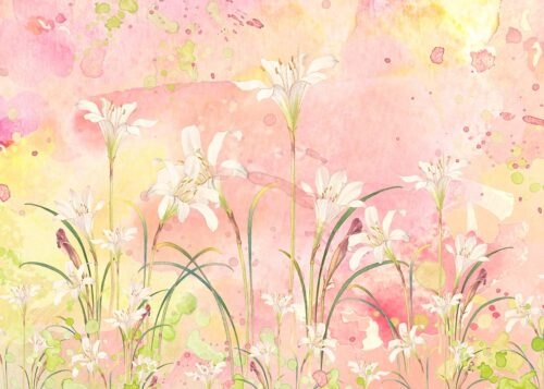 Watercolour Floral Backdrop