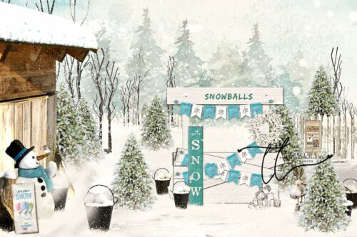 Backdrop featuring a Snowballs For Sale