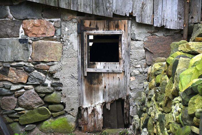 Barn Door Backdop