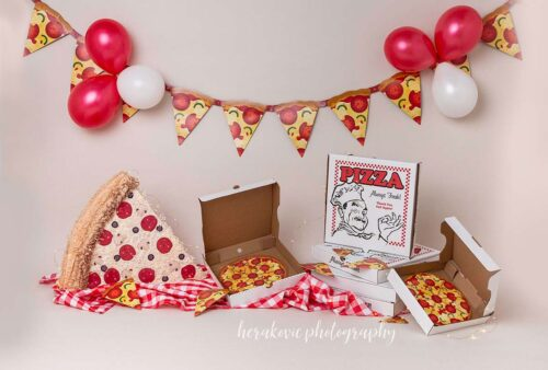 Pizza Photography Backdrop